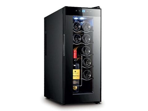 ตู้แช่ไวน์-ประตูกระจกแบน-35-ลิตร-(12-ขวด)