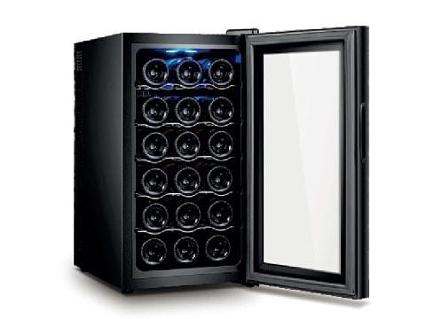 ตู้แช่ไวน์ 1 ประตู ตอนเดียว<br>50 ลิตร (18 ขวด)