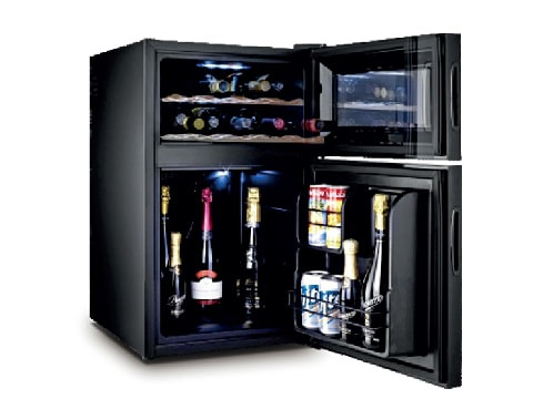 ตู้แช่ไวน์ 2 ประตู 2 ตอน<br>(69 ลิตร) WCL-BCH-69D  ของใช้ในโรงแรม