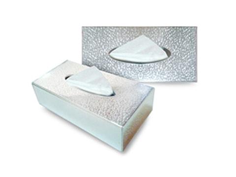 กล่องทิชชู่พลาสติก+อะคริลิค-TSB6