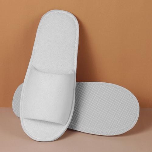 สลิปเปอร์ ผ้าขนหนูหัวเปิด SLP-07  ของใช้ในโรงแรม