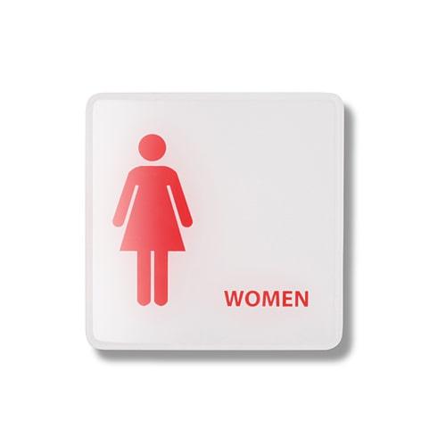 ป้ายสัญลักษณ์ห้องน้ำหญิง-SNB-02307