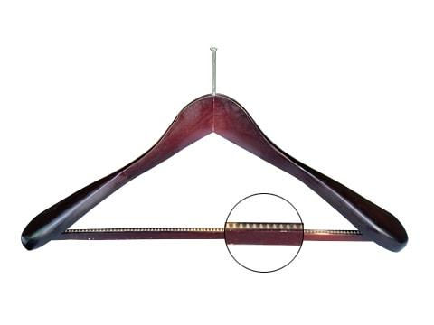 ไม้แขวนเสื้อสูท-มีฟันกันลื่น-หัวเข็ม-HGS-93-0013-P-XX
