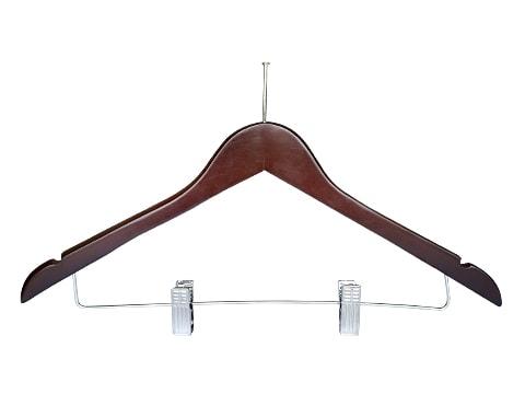 ไม้แขวนเสื้อหัวเข็ม+ที่หนีบกระโปรง-HGS-P66-0041-P-XX