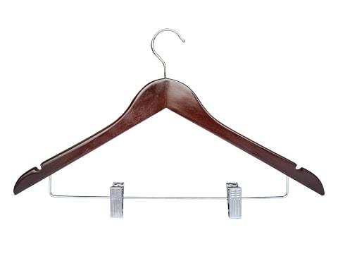 ไม้แขวนเสื้อพร้อมที่หนีบกระโปรง-HGS-P66-0041-H-XX