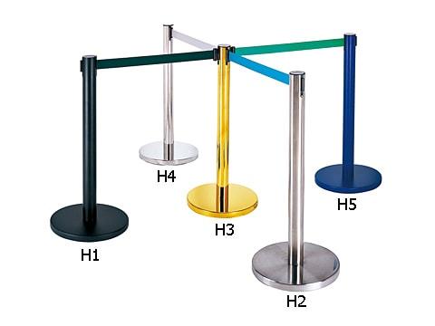 เสากั้นทางเดิน-(เชือกดึงกลับ)-RS-LG-H(1-5)