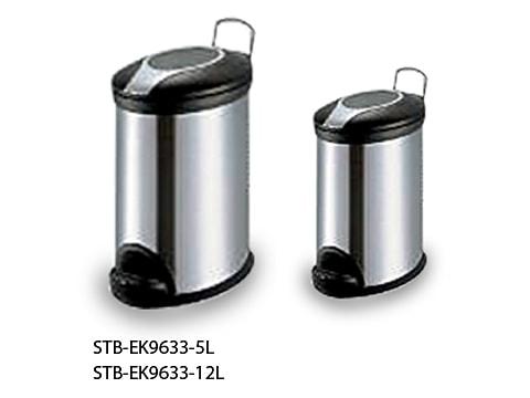 ถังขยะเท้าเหยียบสเตนเลส-STB-EK9633-XL