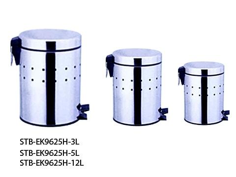 ถังขยะเท้าเหยียบสเตนเลส-STB-EK9625H-XL