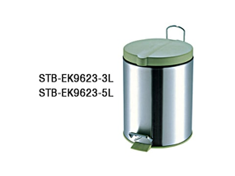 ถังขยะเท้าเหยียบสเตนเลส-STB-EK9623-XL