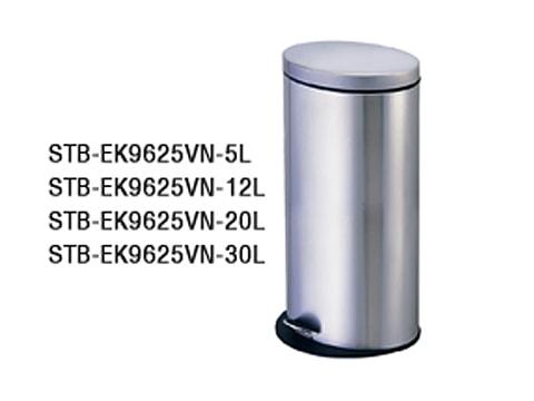 ถังขยะเท้าเหยียบสเตนเลส-STB-EK9625VN-XL