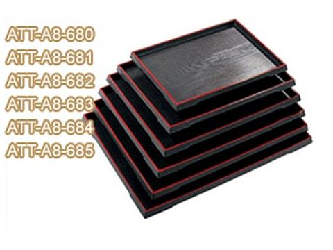 ถาดลายไม้-ขอบตรง-สีแดง-ATT-A8-68(x)