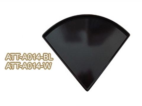 ถาดเมลามีน-ทรงสามเหลี่ยมเข้ามุม-ATT-A014-(BL)(W)