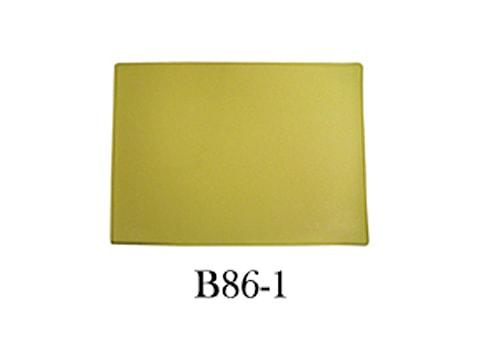 แผ่นรองจาน-เนื้อ-PU-2-หน้า-B86-1